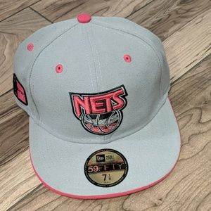 New Jersey Nets New Era Fitted Cap Size 7 1/8